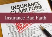 Insurance Bad faith