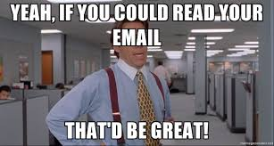 Read. your emails